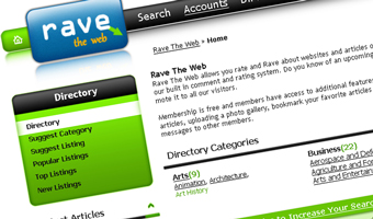 Rave the web